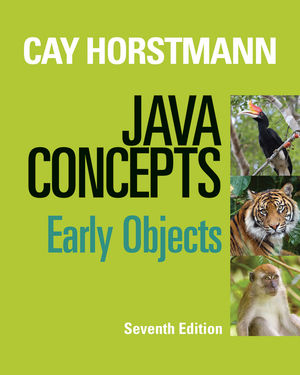 Big Java: Early Objects, Interactive Edition, 6th Edition ...