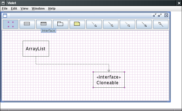 the other tool buttons let you add nodes and edges to the diagram mouse over each node and read the tool tips to see what they do - Uml Open Source Tools